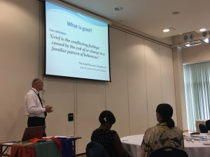 David Griffiths presentation on grief
